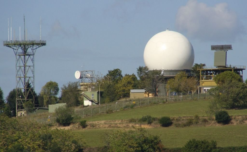 Radar, lato sud