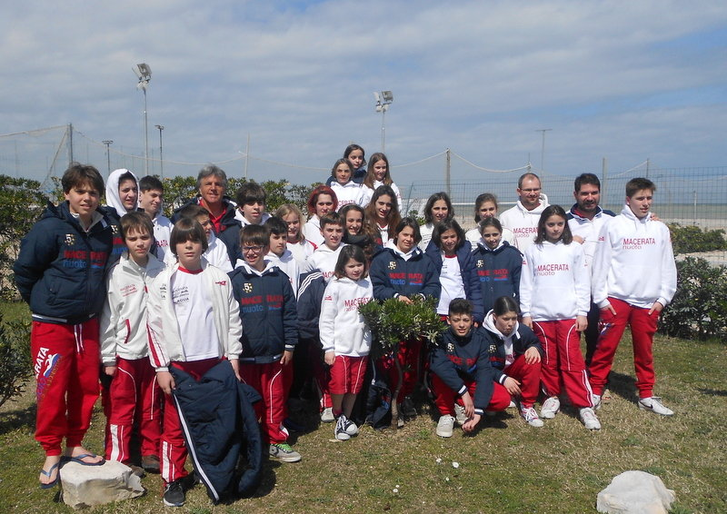 TEAM MACERATA NUOTO A CIVITANOVA