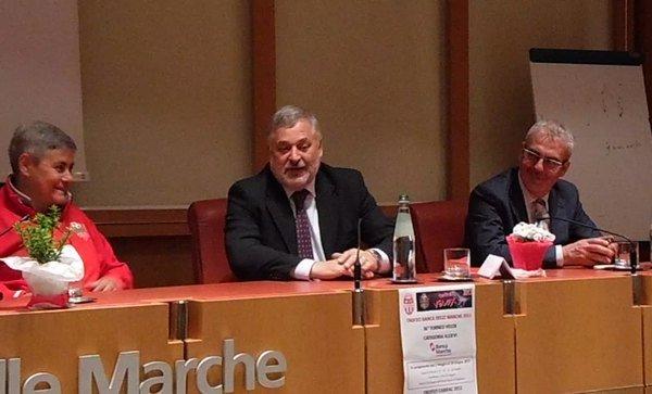 Maria Francesca Tardella, Alferio Canesin e Romano Carancini
