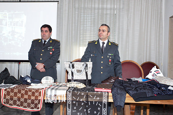 Il Colonnello Paolo Papetti (a sinistra) e il Maggiore Gianluca Ferraro