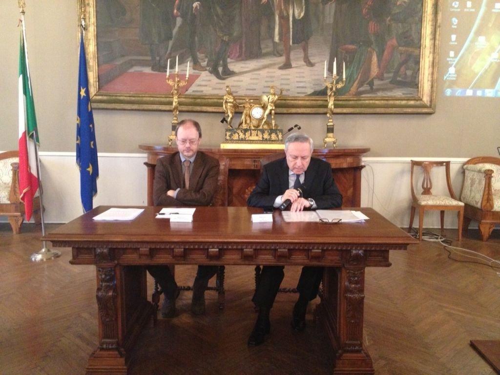 Il Dirigente Istat Emilia Romagna-Marche e il Prefetto