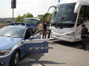 I controlli della polizia (Foto d'archivio)