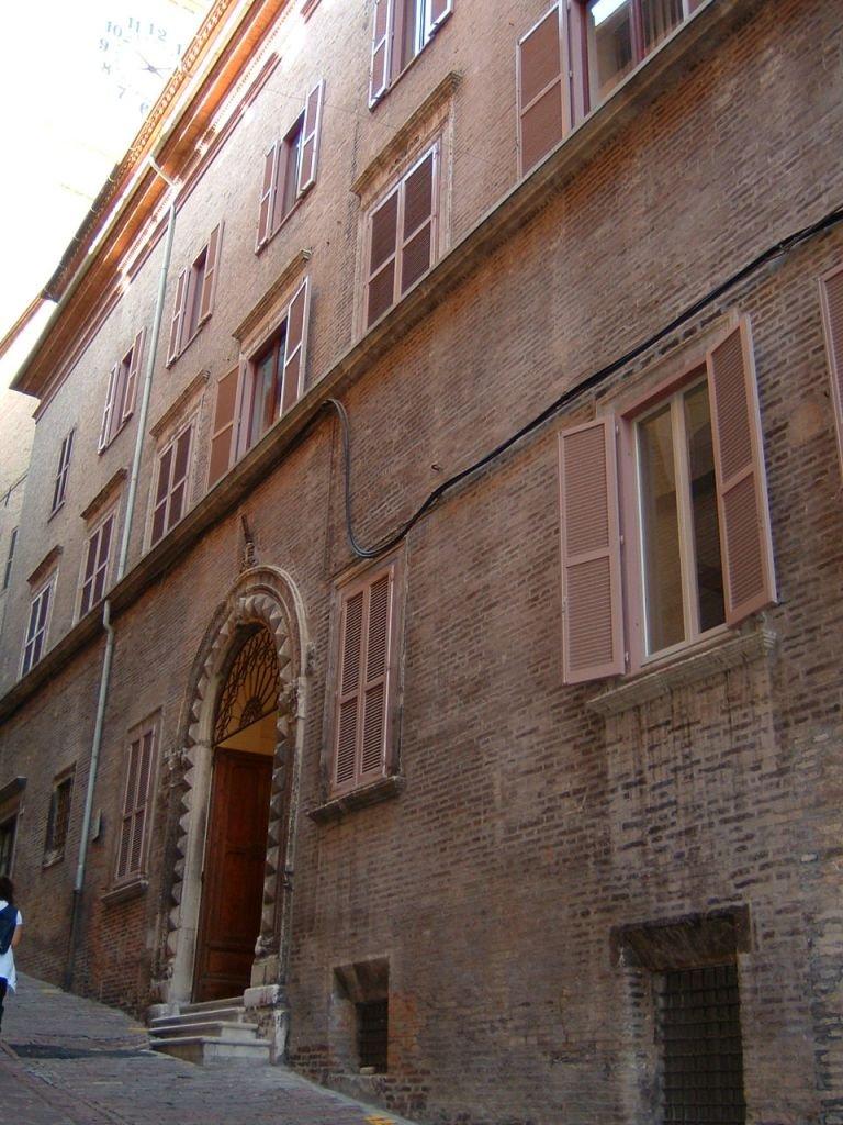 Palazzo Conventati, sede degli uffici amministrativi dell'Università di Macerata