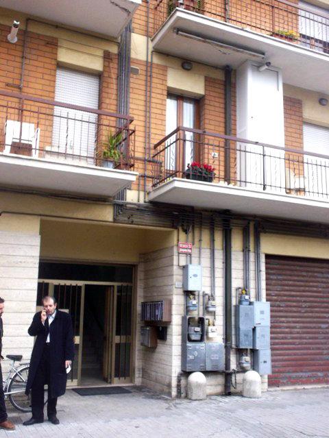 L'abitazione dei coniugi Dionisi