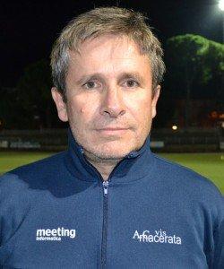 Maurizio Gagliardini, responsabile del mercato della Maceratese
