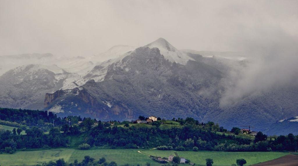 La nevicata del 25 maggio sui Monti Azzurri