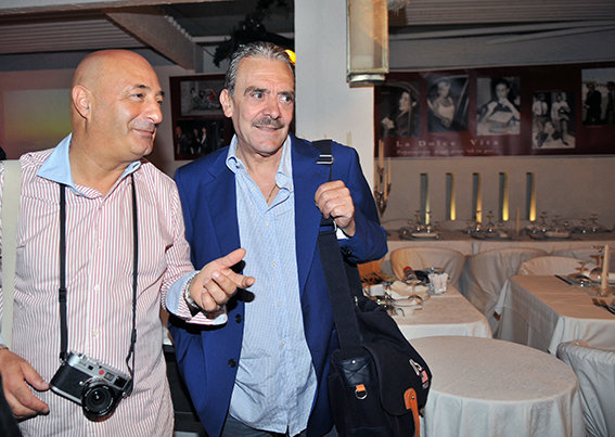 Guido Picchio e Rino Barillari