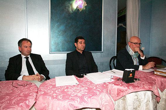 La conferenza stampa della Robur
