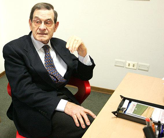 Loris Tartuferi, presidente della Banca della Provincia di Macerata