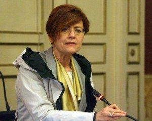 Anna Menghi in Consiglio comunale