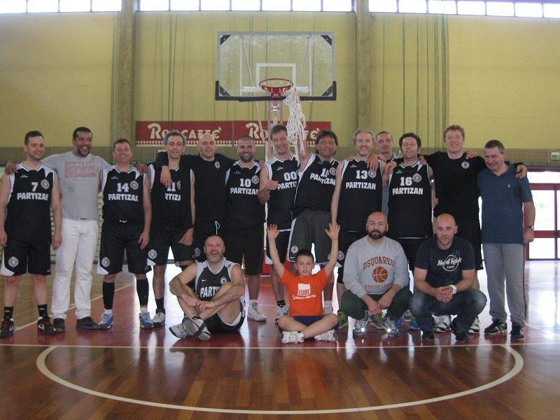 """I """"vecchietti"""" del Partizan"""