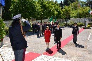 La Festa per i 161 anni della Polizia a Macerata dello scorso anno