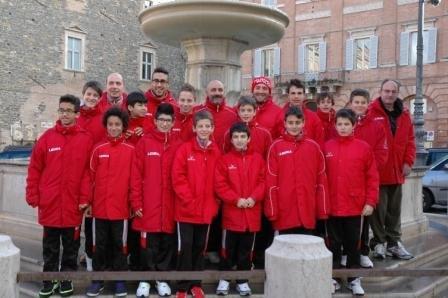 La formazione Esordienti della Polisportiva Matelica
