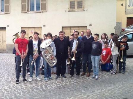 I ragazzi della Junior Band