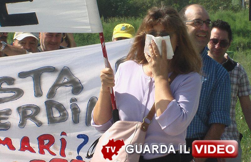 Sabato la protesta davanti al Comsari per la riapertura dell'inceneritore (clicca sull'immagine per guardare il video)