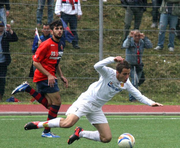 Il giovane attaccante esterno Palmieri