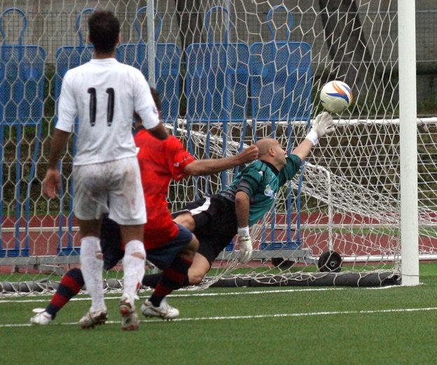 Il primo gol della Sambenedettese