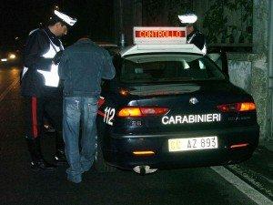 I controlli dei carabinieri di Camerino