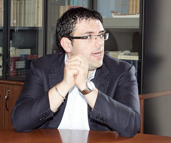 Francesco Fiordomo, sindaco di Recanati