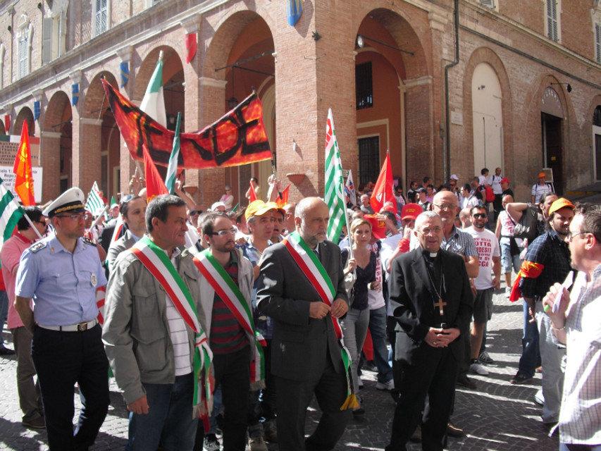 Manifestazione Indesit 4-2