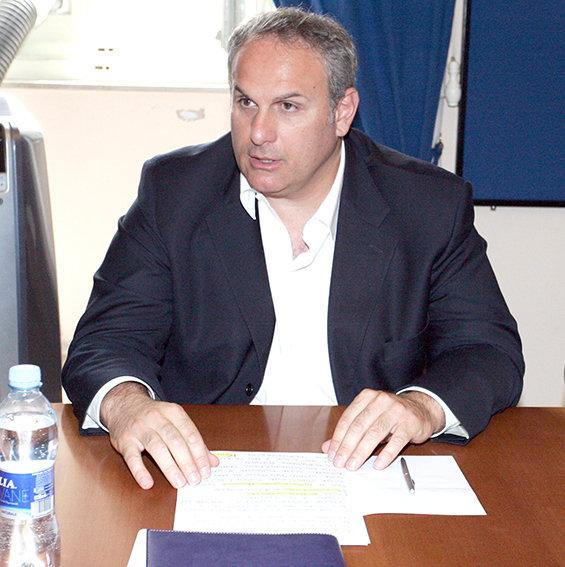 Stefano Cardinali, sindaco di Montecosaro