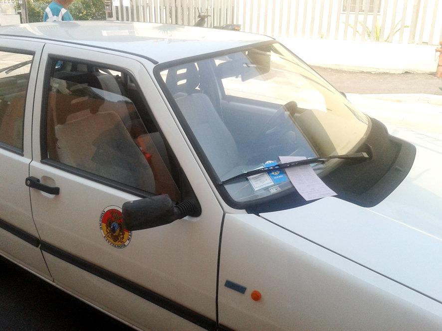 multa a vettura comune civitanova