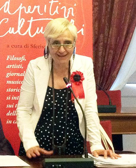 Cinzia Maroni, responsabile Aperitivi culturali