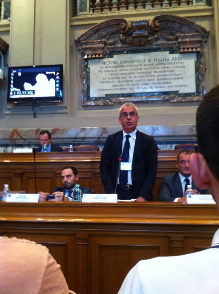 Il sindaco Romano Carancini al Cnel