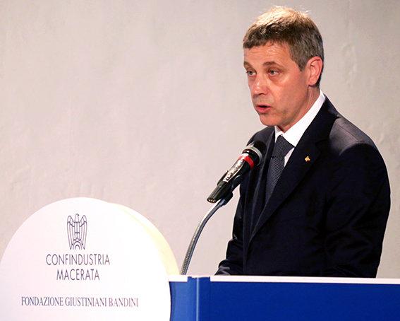 Il nuovo Presidente di Confindustria Macerata, Giovanni Clementoni.