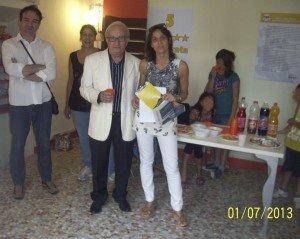 L'architetto Giancarlo de Mattia e Noemi Torresi