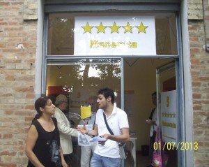 Inaugurazione della sede di Viale Martiri della Libertà del Movimento 5 Stelle.