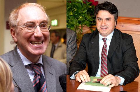 I rettori Luigi Lacchè e Flavio Corradini