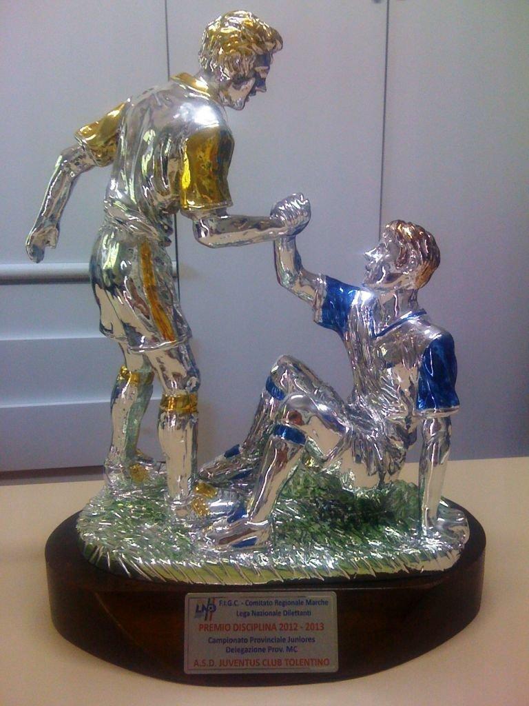 Il premio disciplina vinto dalla juniores della Juventus Club