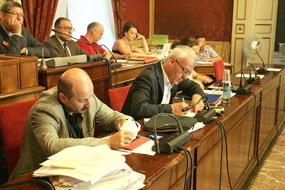 Il sindaco Carancini durante il Consiglio comunale