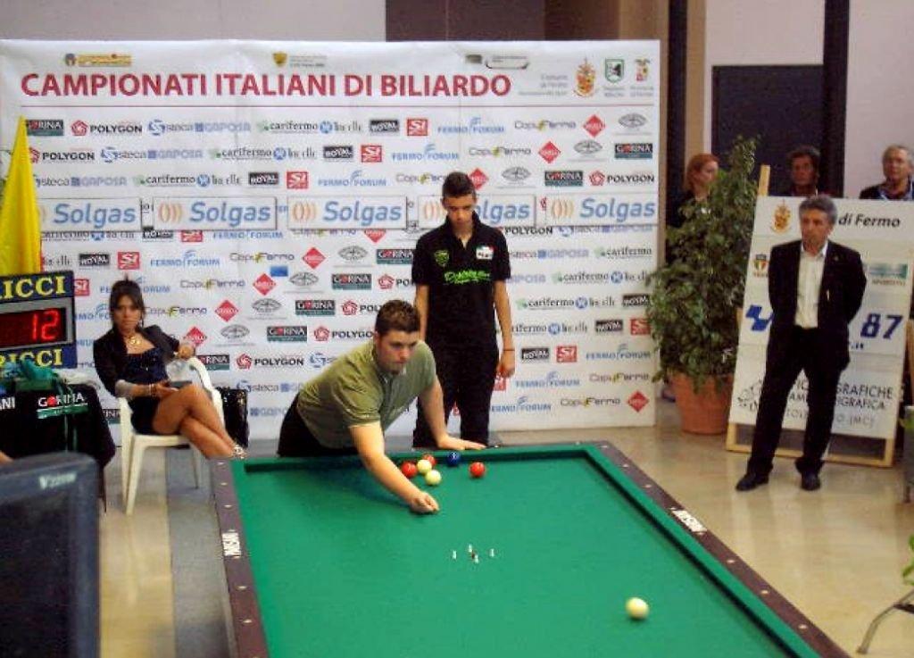 Simone Rinaldi campione italiano 2013 fermo