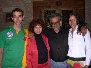LA FAMIGLIA - Walter, Lucia, Gabor ed Eva