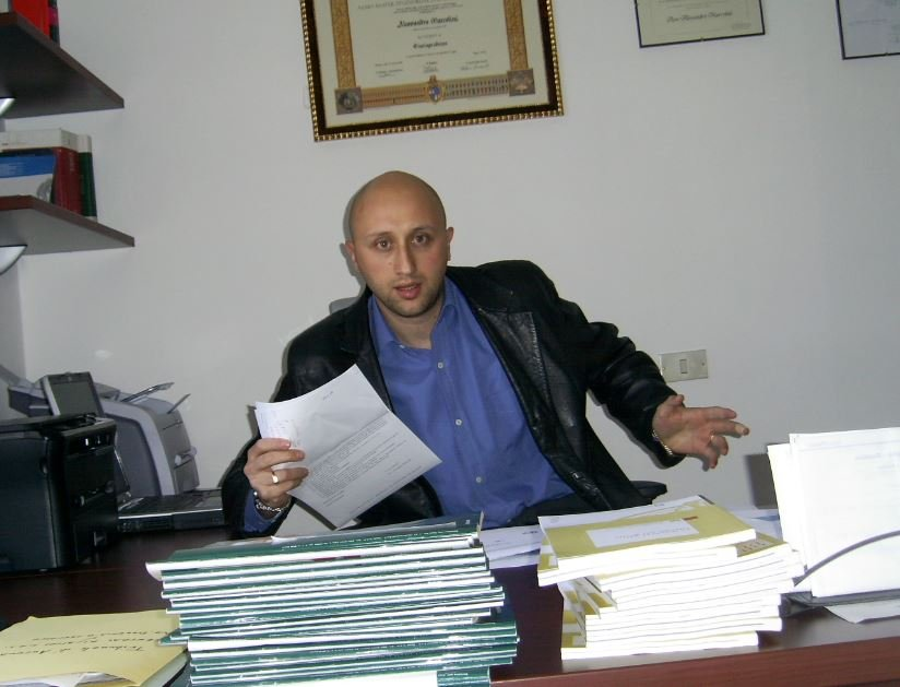 L'avvocato Alessandro Marcolini