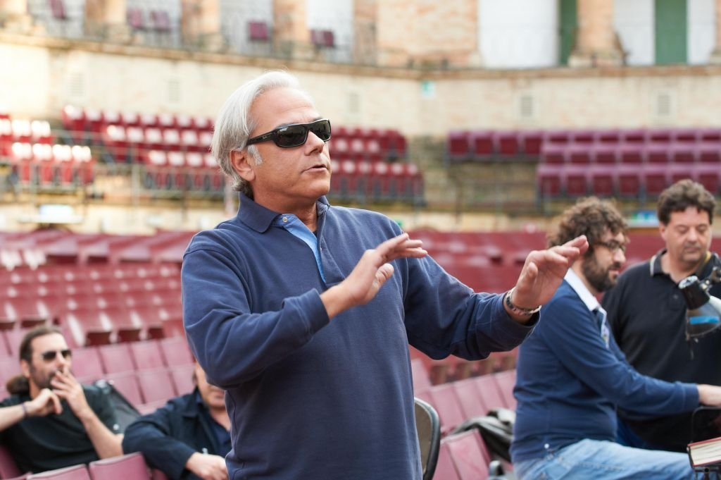 Il direttore d'orchesta Paolo Arrivabeni