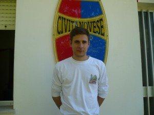 Il centrocampista della Civitanovese Forgione, assente in casa del Giulianova