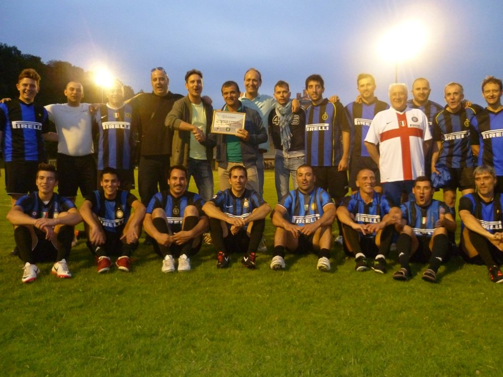 L'Inter club, vincitrice del torneo