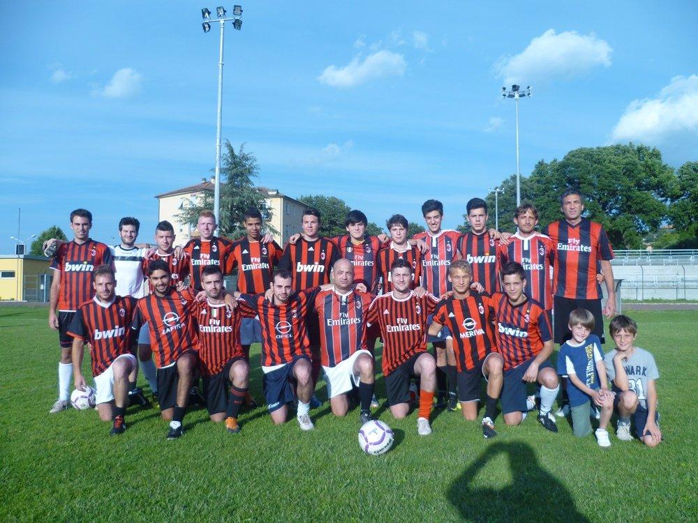 Il Milan club, terzo classificato