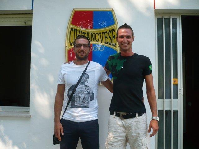 I due nuovi difensori della Civitanovese Morbiducci e Comotto