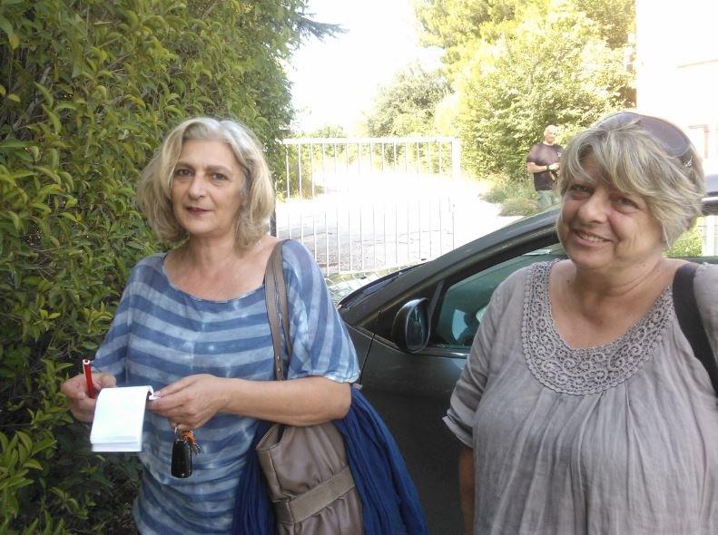 Ivana Properzi (Cgil) e Lidia Fabbri (Cisl)