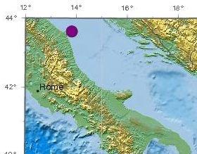 L'epicentro del terremoto (Immagine ECSM-CSEM)