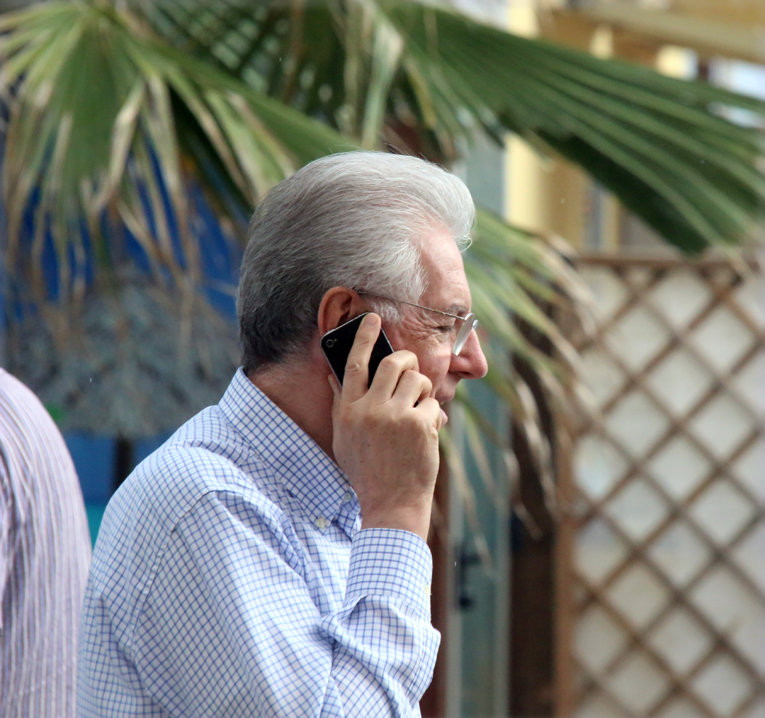 Mario Monti oggi a Porto Recanati