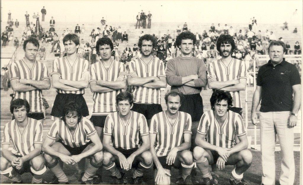 (1976-77) In piedi da sinistra Brizi, Principi, Franzon, Mataloni, Borsi, Sabbatini, Matassoni; accosciati Mazzante, Sentimenti, Dalmo, Maroni, Ciabocco
