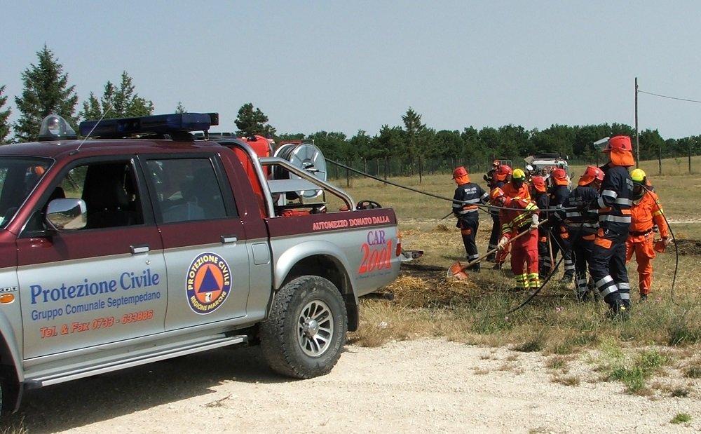 La squadra antincendio