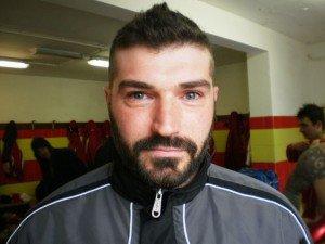 Il mister del Serralta Samuele Bonifazi