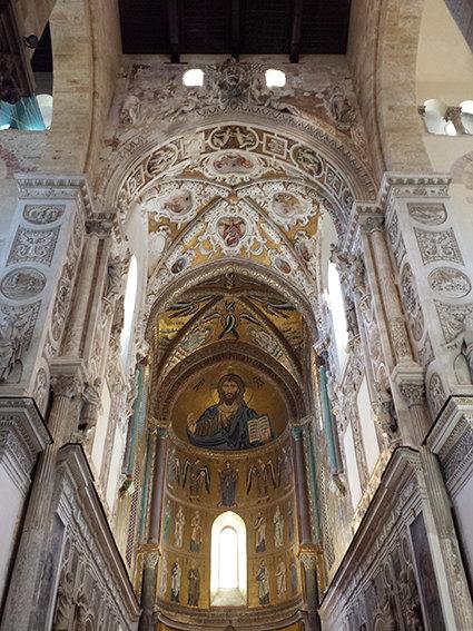 Duomo di Cefalù, Sicilia di William Berrè