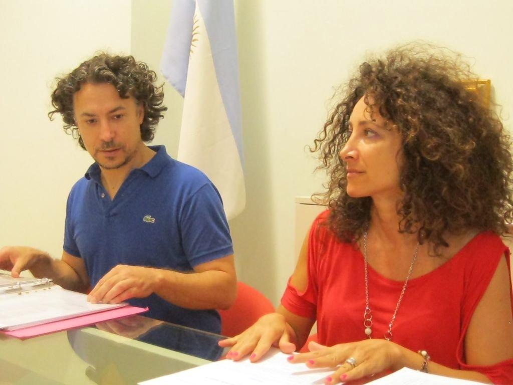 Pierpaolo Iacopini e Mirella Emiliozzi del Movimento 5 stelle